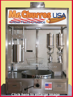 churros counter