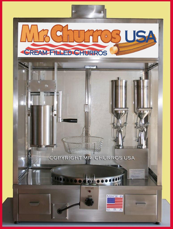 mr churros machine