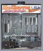 Churros cream fillers