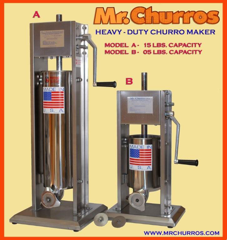 5 and 15 lbs churro makers